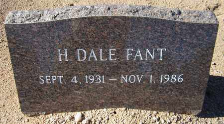 FANT, H. DALE - Maricopa County, Arizona | H. DALE FANT - Arizona Gravestone Photos