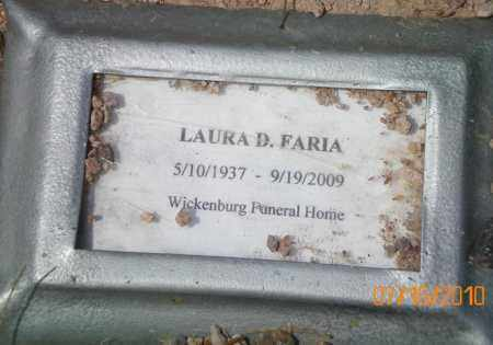 FARIA, LAURA D. - Maricopa County, Arizona | LAURA D. FARIA - Arizona Gravestone Photos