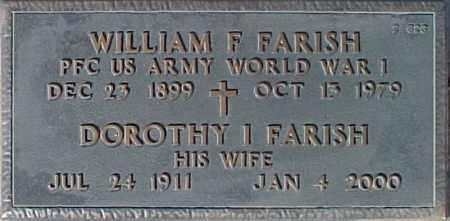 FARISH, DOROTHY I. - Maricopa County, Arizona | DOROTHY I. FARISH - Arizona Gravestone Photos