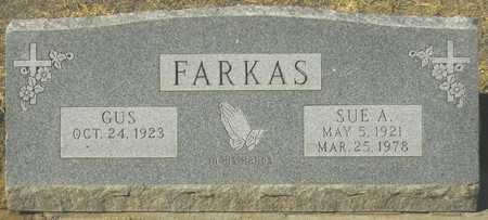 FARKAS, SUE A. - Maricopa County, Arizona | SUE A. FARKAS - Arizona Gravestone Photos