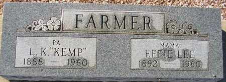 FARMER, EFFIE LEE - Maricopa County, Arizona | EFFIE LEE FARMER - Arizona Gravestone Photos