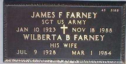 FARNEY, JAMES F. - Maricopa County, Arizona | JAMES F. FARNEY - Arizona Gravestone Photos
