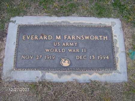 FARNSWORTH, EVERARD M. - Maricopa County, Arizona | EVERARD M. FARNSWORTH - Arizona Gravestone Photos