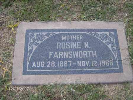 FARNSWORTH, ROSINE - Maricopa County, Arizona   ROSINE FARNSWORTH - Arizona Gravestone Photos
