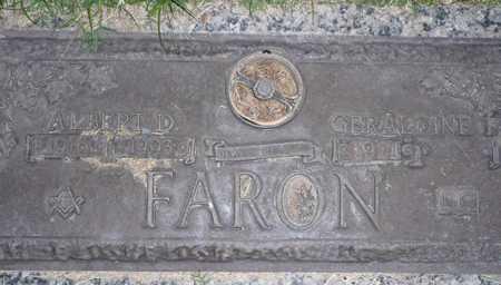FARON, GERALDINE F. - Maricopa County, Arizona | GERALDINE F. FARON - Arizona Gravestone Photos