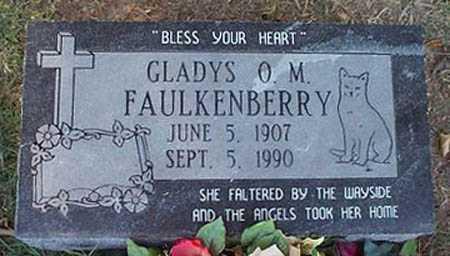 FAULKENBERRY, GLADYS O. M. - Maricopa County, Arizona   GLADYS O. M. FAULKENBERRY - Arizona Gravestone Photos