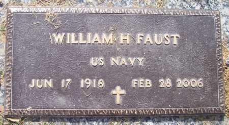 FAUST, WILLIAM H. - Maricopa County, Arizona | WILLIAM H. FAUST - Arizona Gravestone Photos