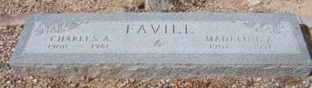 FAVILL, MADELINE A. - Maricopa County, Arizona | MADELINE A. FAVILL - Arizona Gravestone Photos