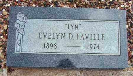 FAVILLE, EVELYN D. - Maricopa County, Arizona | EVELYN D. FAVILLE - Arizona Gravestone Photos