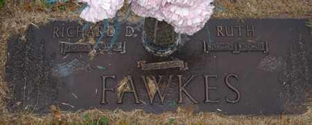 FAWKES, RICHARD D. - Maricopa County, Arizona   RICHARD D. FAWKES - Arizona Gravestone Photos