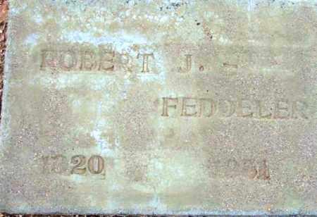 FEDDELER, ROBERT JAMES - Maricopa County, Arizona   ROBERT JAMES FEDDELER - Arizona Gravestone Photos
