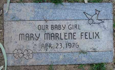 FELIX, MARY MARLENE - Maricopa County, Arizona | MARY MARLENE FELIX - Arizona Gravestone Photos