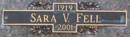 FELL, SARA V - Maricopa County, Arizona   SARA V FELL - Arizona Gravestone Photos
