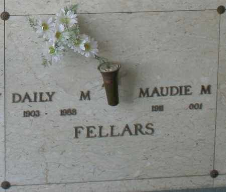 FELLARS, DAILY M. - Maricopa County, Arizona | DAILY M. FELLARS - Arizona Gravestone Photos