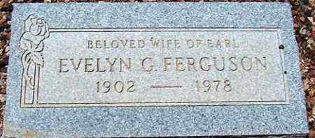 FERGUSON, EVELYN G. - Maricopa County, Arizona | EVELYN G. FERGUSON - Arizona Gravestone Photos