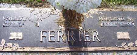 FERRIER, WILLIAM W. - Maricopa County, Arizona   WILLIAM W. FERRIER - Arizona Gravestone Photos