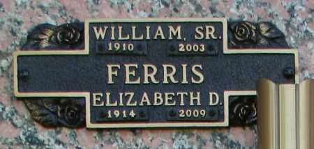 FERRIS, WILLIAM, SR - Maricopa County, Arizona | WILLIAM, SR FERRIS - Arizona Gravestone Photos