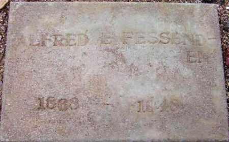 FESSENDEN, ALFRED E. (AL) - Maricopa County, Arizona   ALFRED E. (AL) FESSENDEN - Arizona Gravestone Photos