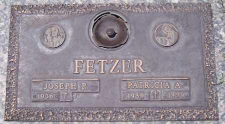 FETZER, JOSEPH P. - Maricopa County, Arizona | JOSEPH P. FETZER - Arizona Gravestone Photos