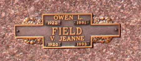 FIELD, V. JEANNE - Maricopa County, Arizona | V. JEANNE FIELD - Arizona Gravestone Photos
