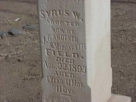FIELD, SYRUS W - Maricopa County, Arizona | SYRUS W FIELD - Arizona Gravestone Photos