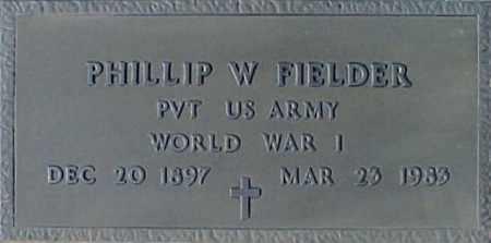FIELDER, PHILLIP W - Maricopa County, Arizona | PHILLIP W FIELDER - Arizona Gravestone Photos