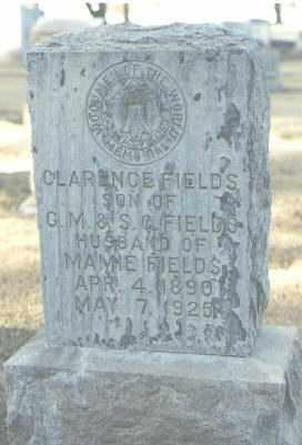 FIELDS, CLARENCE - Maricopa County, Arizona | CLARENCE FIELDS - Arizona Gravestone Photos