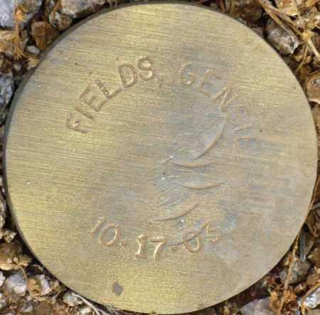 FIELDS, GENSIE - Maricopa County, Arizona   GENSIE FIELDS - Arizona Gravestone Photos