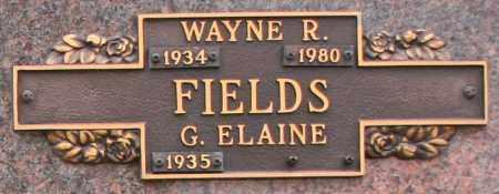 FIELDS, G. ELAINE - Maricopa County, Arizona | G. ELAINE FIELDS - Arizona Gravestone Photos