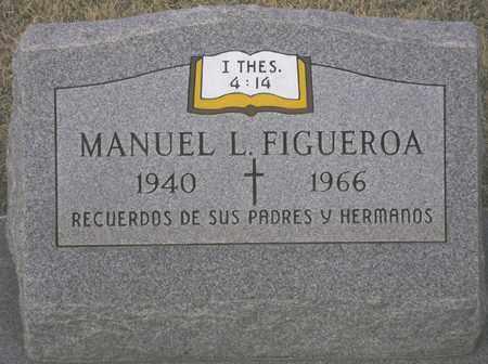 FIGUEROA, MANUEL L. - Maricopa County, Arizona | MANUEL L. FIGUEROA - Arizona Gravestone Photos
