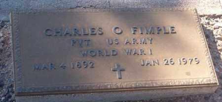 FIMPLE, CHARLES O. - Maricopa County, Arizona   CHARLES O. FIMPLE - Arizona Gravestone Photos