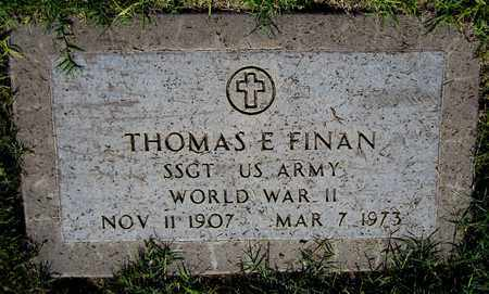 FINAN, THOMAS E. - Maricopa County, Arizona | THOMAS E. FINAN - Arizona Gravestone Photos