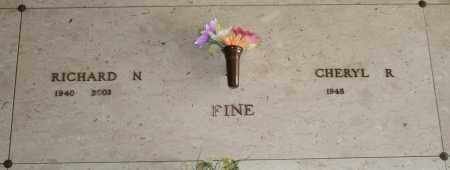 FINE, RICHARD N - Maricopa County, Arizona | RICHARD N FINE - Arizona Gravestone Photos
