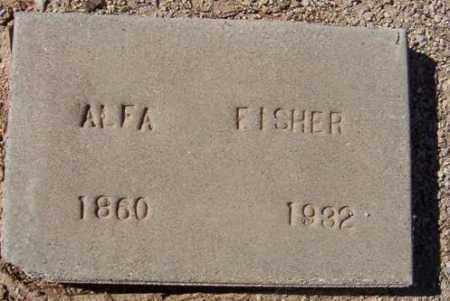 FISHER, ALFRETTA (ALFA) - Maricopa County, Arizona | ALFRETTA (ALFA) FISHER - Arizona Gravestone Photos