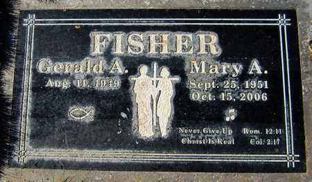 FISHER, MARY A. - Maricopa County, Arizona | MARY A. FISHER - Arizona Gravestone Photos