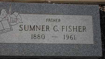 FISHER, SUMNER C. - Maricopa County, Arizona   SUMNER C. FISHER - Arizona Gravestone Photos