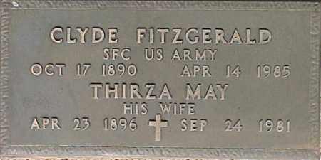 FITZGERALD, THIRZA MAY - Maricopa County, Arizona | THIRZA MAY FITZGERALD - Arizona Gravestone Photos