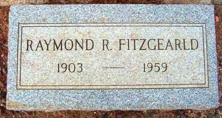 FITZGERALD, RAYMOND F. - Maricopa County, Arizona   RAYMOND F. FITZGERALD - Arizona Gravestone Photos