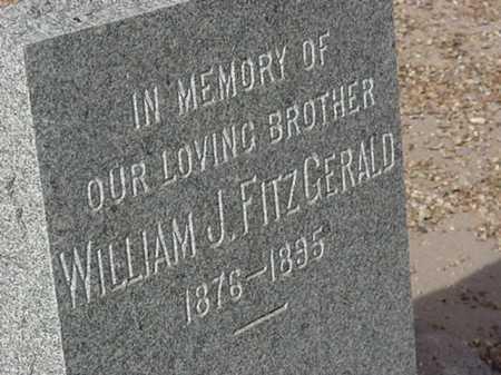 FITZGERALD, WILLIAM J - Maricopa County, Arizona | WILLIAM J FITZGERALD - Arizona Gravestone Photos
