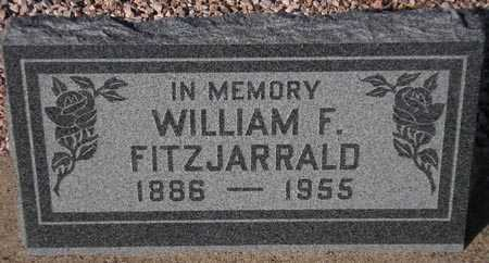FITZJARRALD, WILLIAM F. - Maricopa County, Arizona | WILLIAM F. FITZJARRALD - Arizona Gravestone Photos