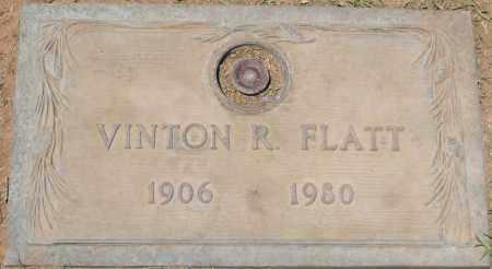 FLATT, VINTON R. - Maricopa County, Arizona   VINTON R. FLATT - Arizona Gravestone Photos