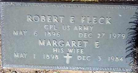 FLECK, MARGARET E. - Maricopa County, Arizona | MARGARET E. FLECK - Arizona Gravestone Photos