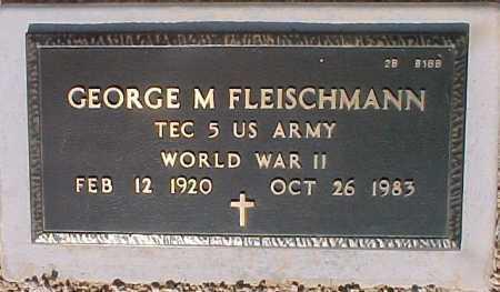FLEISCHMANN, GEORGE M. - Maricopa County, Arizona | GEORGE M. FLEISCHMANN - Arizona Gravestone Photos