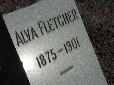 FLETCHER, ALVA - Maricopa County, Arizona   ALVA FLETCHER - Arizona Gravestone Photos