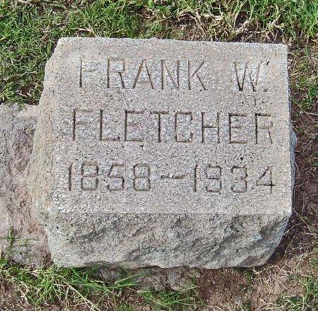 FLETCHER, FRANK W. - Maricopa County, Arizona | FRANK W. FLETCHER - Arizona Gravestone Photos