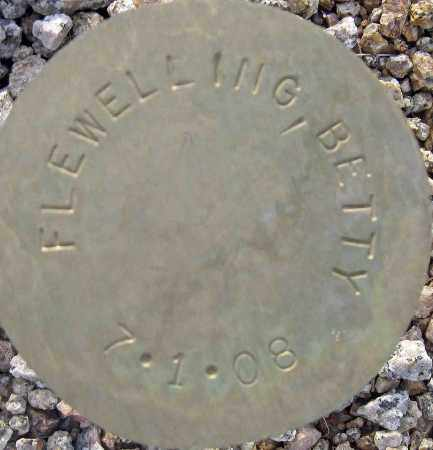 FLEWELLING, BETTY - Maricopa County, Arizona   BETTY FLEWELLING - Arizona Gravestone Photos