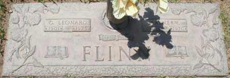FLINN, G. LEONARD - Maricopa County, Arizona   G. LEONARD FLINN - Arizona Gravestone Photos