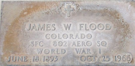 FLOOD, JAMES W. - Maricopa County, Arizona | JAMES W. FLOOD - Arizona Gravestone Photos
