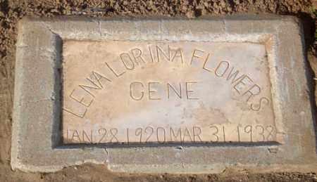 RILEY FLOWERS, LENA LORINA - Maricopa County, Arizona   LENA LORINA RILEY FLOWERS - Arizona Gravestone Photos