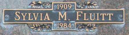 FLUITT, SYLVIA M - Maricopa County, Arizona | SYLVIA M FLUITT - Arizona Gravestone Photos